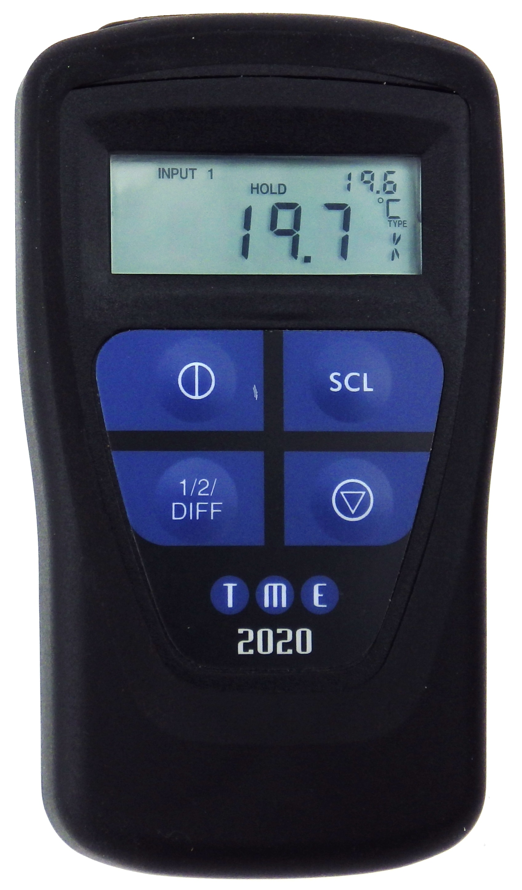 This Waterproof, Self-Calibrating Thermometer has dual input and infra-red capability, along with seven thermocouple typ