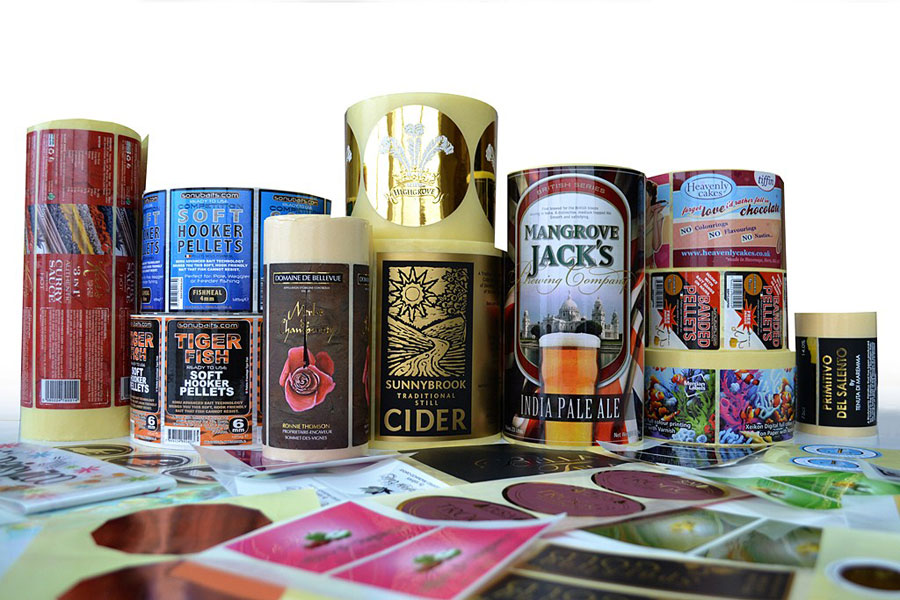 Our core business is manufacturingcustom printed labelsto an huge breadth of clients from over 9,000 UK businesses.