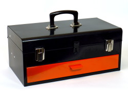 Storage box for tools