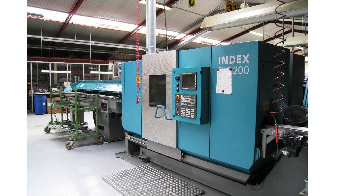 Vores nye INDEX C200 maskine