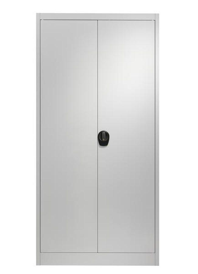 div. Grössen / Farben Mit Flügeltüren und vier Fachböden Stabile, 0,77 mm starke, einbrennlackierte Stahlblechkonstrukti