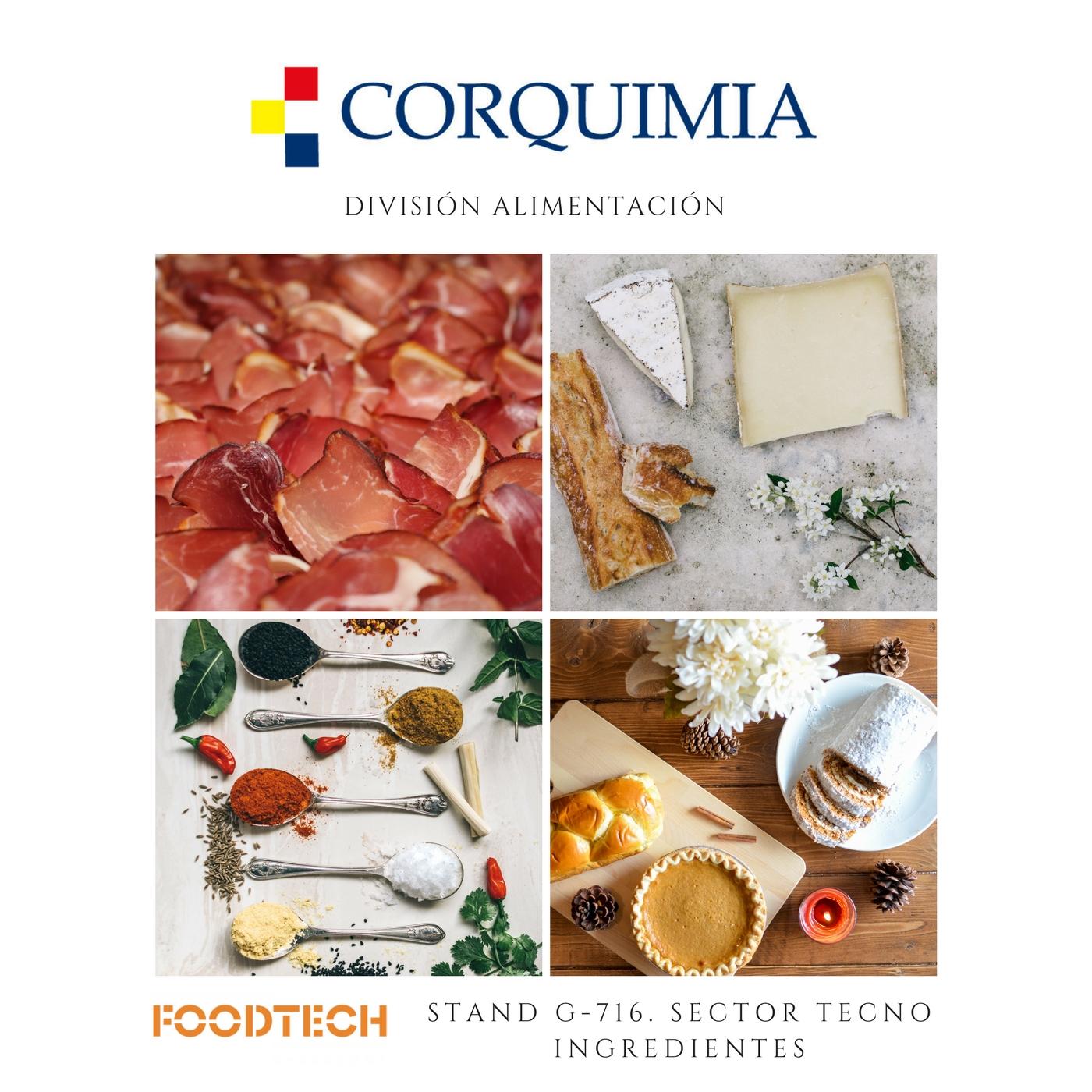 CORQUIMIA  Presente en el FOODTECH 2018