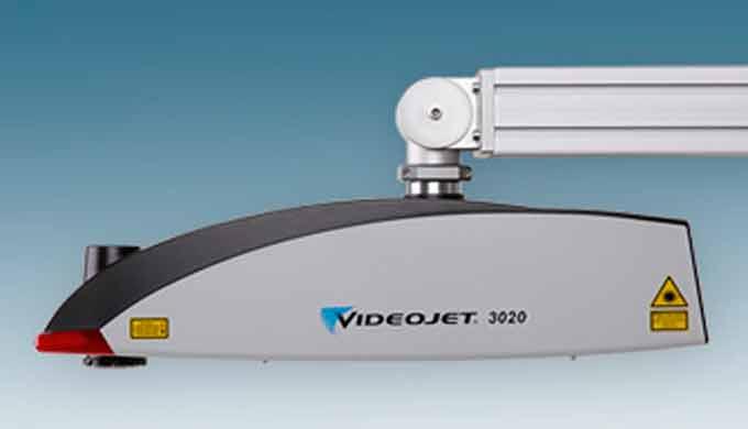 MARCADO POR LASER (Láser de CO2 para ciclos de trabajos reducidos): Videojet 3020