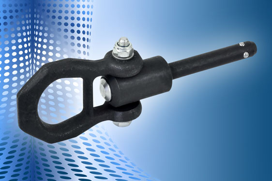 Elesa GN 1130 lifting lock pins enable quick installation on heavy equipment, for lifting either axially or at up to 90°