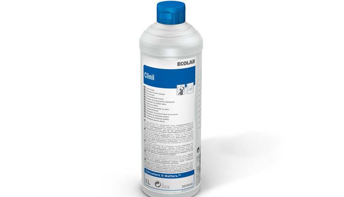 Clinil - detergent pentru sticlă și suprafețe. Îndepărtează bine amprentele digitale, uleiul și grăsimea. Nu lasă pete s