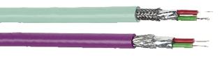 Kabel för L2 BUS komponenter. Den finns för fast installation i byggnader och maskinutrustning samt för flexibla applika