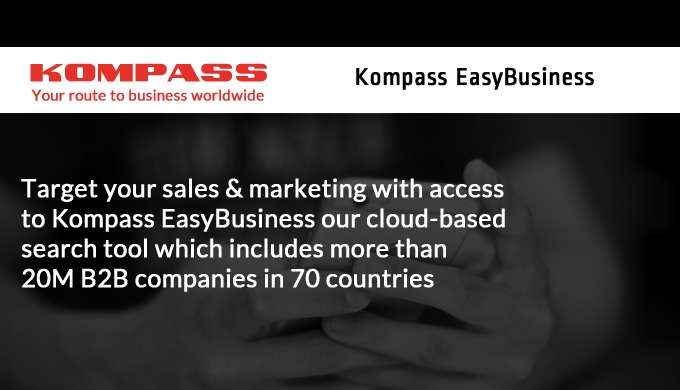 Kompass Business Data helps you find the right customer leads and marketing lists for your business, with data collected