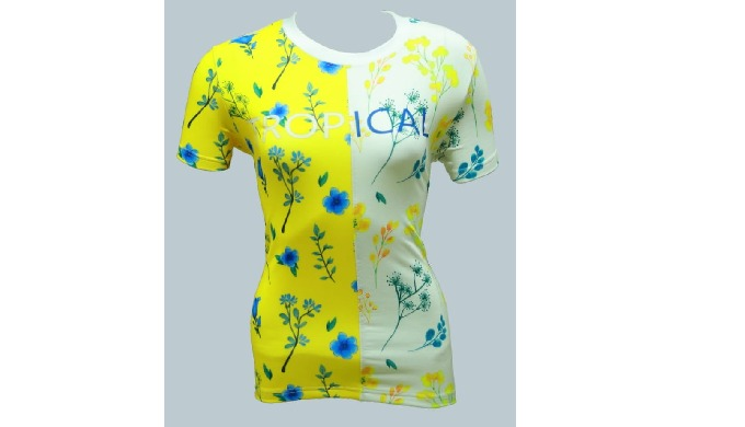 Poly / Spandex, Digital / Sublimation / Eco- Freindly Print,  200 - 240 GSM, XS to XXL size available,