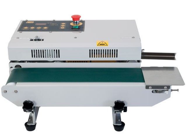 This compact horizontal band sealer is a premium 'best in class' device. Featuring a modern design and easy to operate f