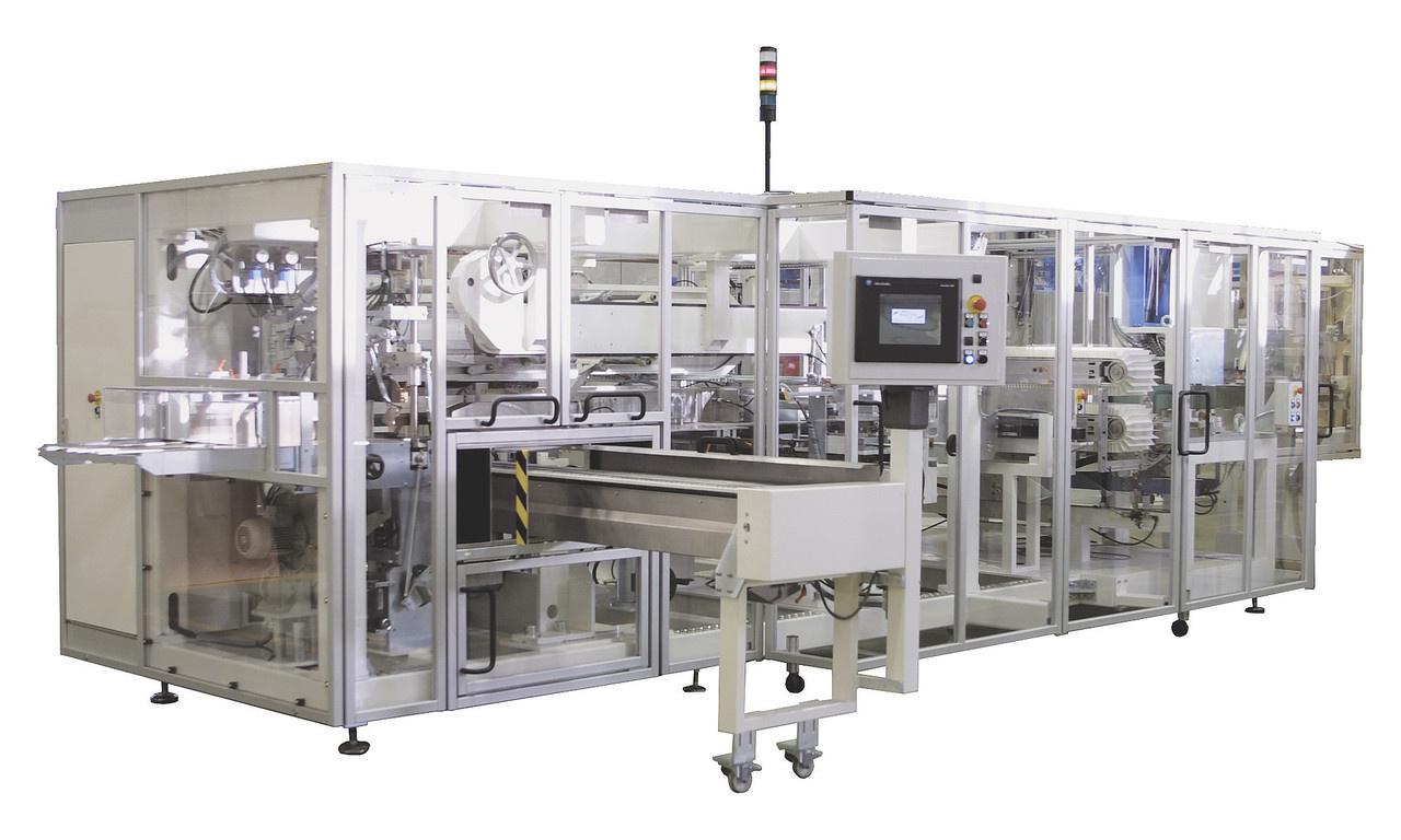 Voll integrierte Zähl-, Stapel- und Verpackungsmaschine für maximale Prozesskontrolle und Bedienbarkeit. Die OPTIMA PAKS