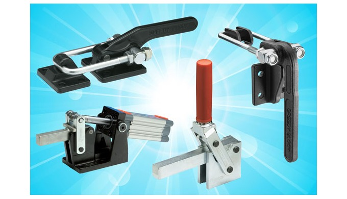 Heavy Duty clamping – effective force from Elesa