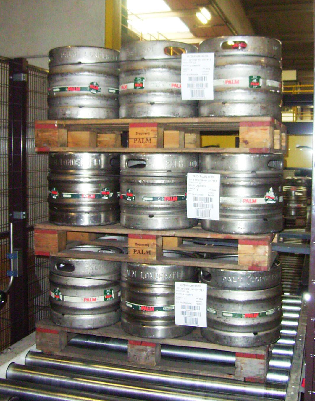 Bier Keg-Transportgutsicherung - TÜV und DEKRA zertifiziert