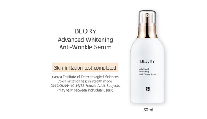 * Double-effect functional serum for resilience and cleanness Containing adenosine for wrinkle reduction and niacinamide