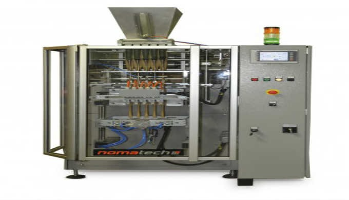 Multi-tube vertical packaging machines