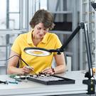 Beleuchtung für ESD-gerechte Arbeitsplätze