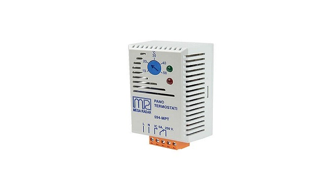 Since it is an electronic circuit, it is used as a one-way panel thermostat, heater and cooler auxiliary element with mo