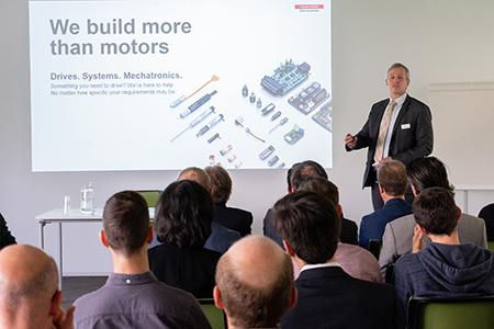 maxon motor se relie à l'EPFL