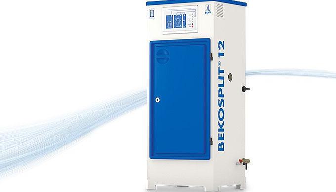 DieBEKOSPLITtrennt selbst stabile Emulsione, die durch ungünstige Ausgangsbedingungen oder aufgrund von bestimmten Sch