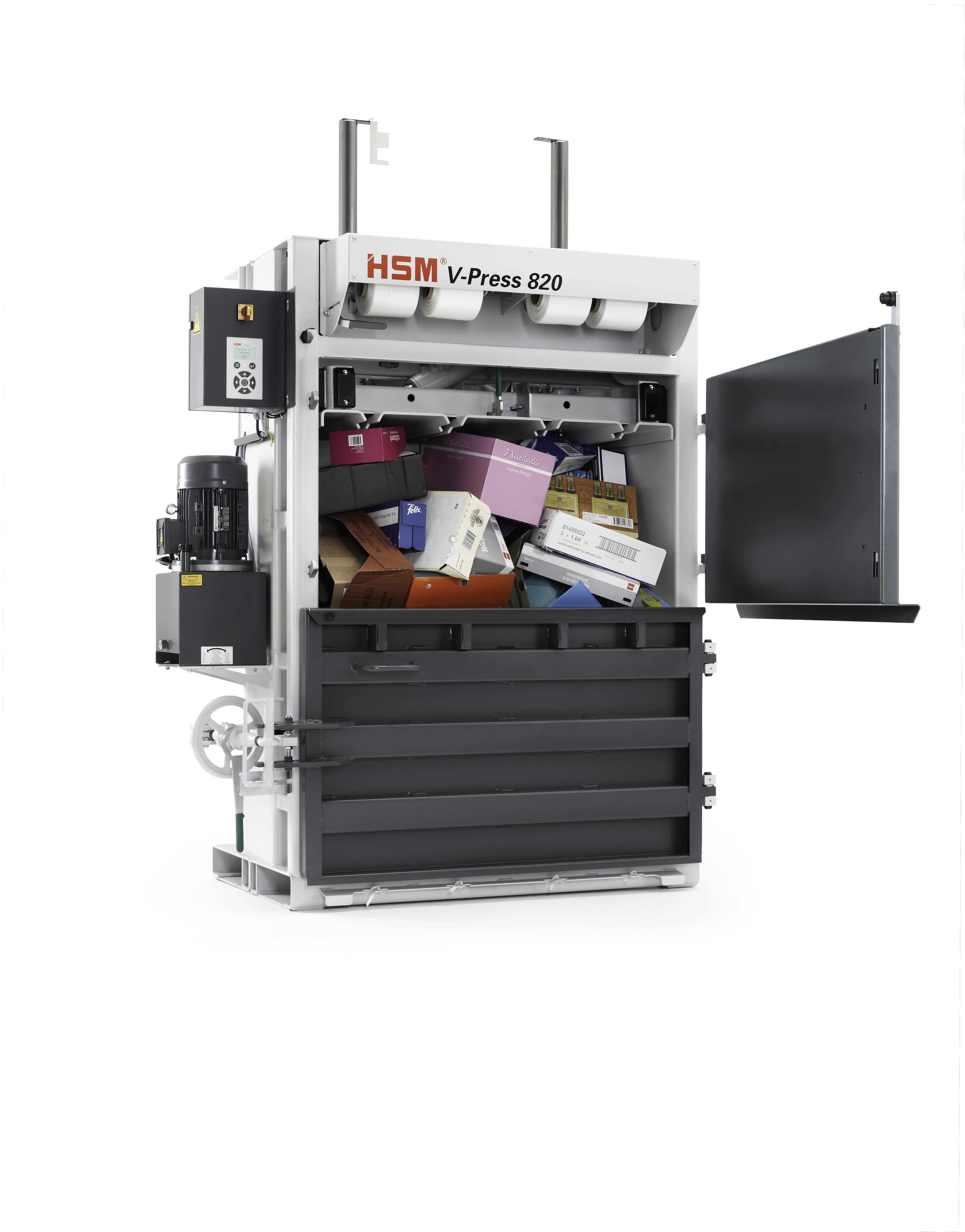 Die HSM Vertikal-Ballenpressen der Serie V-Press eignen sich durch Ihre Maße, Kosten und Leistungsmerkmale hervorragend
