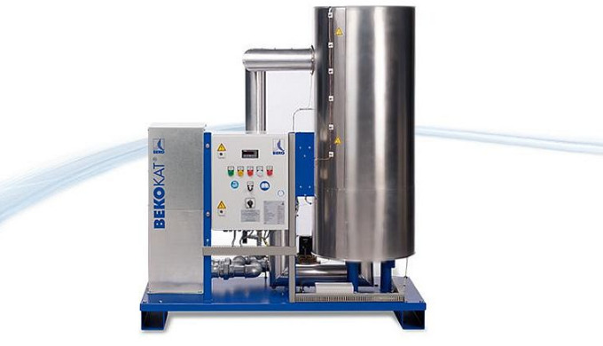 Katalysetechnik für ölfreie Druckluft: BEKOKAT® Das Gerät wandelt Kohlenwasserstoffe durch Totaloxidation vollständig in