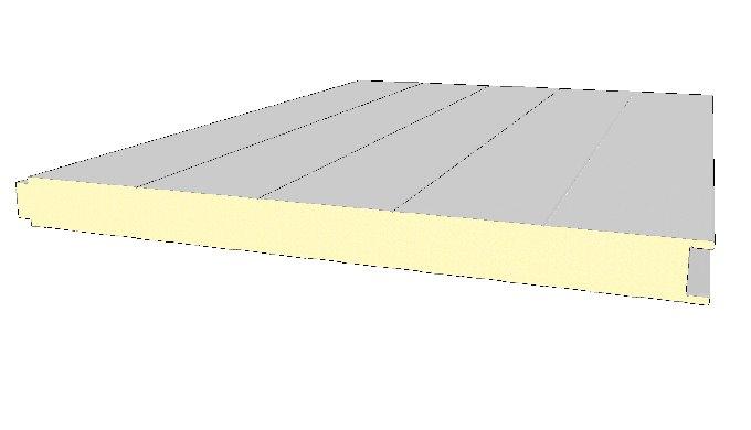 ecomendable solución de aislamiento para fachadas y cubiertas. Estos paneles se encuentran formados por un núcleo de pol