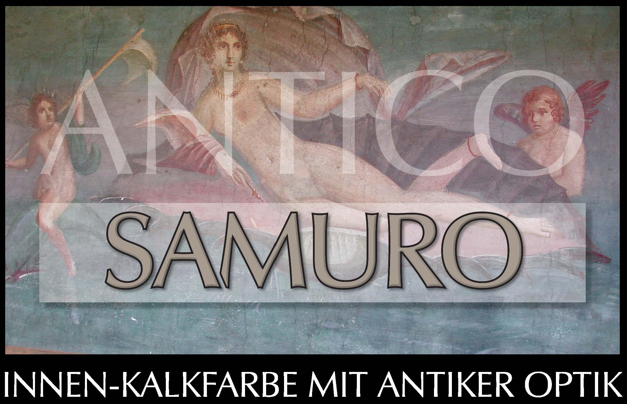SAMURO antico  -  dekorative Kalkfarbe für die Innenanwendung