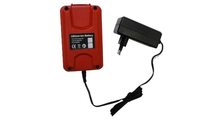 Chargeur pour Batterie lithium-ion 18 Volts.
