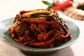 Dandelion kimchi
