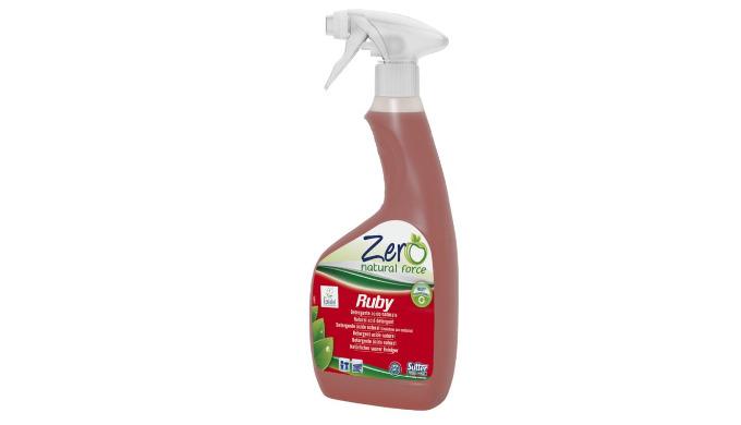 RUBY - 500 ml - Détergent sanitaires, acide naturel écologique, gamme ZERO