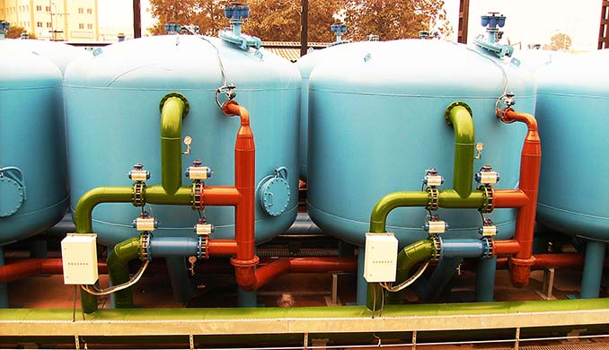 - Multi Media Water Filters (Sand Filters / Actived Carbon Filters) - Clarifiers & Thickeners - Filter Presses - Grit Re