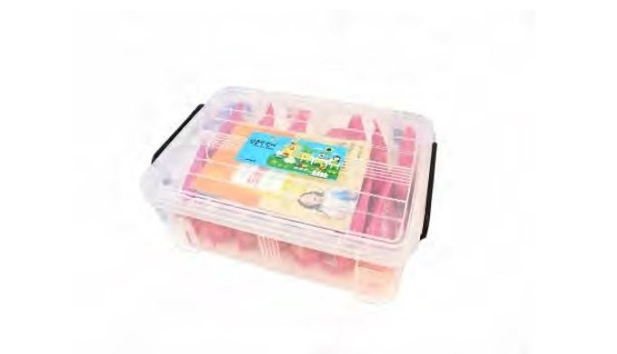 Kindergarten education program Weight : 4.53kg No. of parts : 1800 pieces Color : various Material : ABS,SEBS Age of use