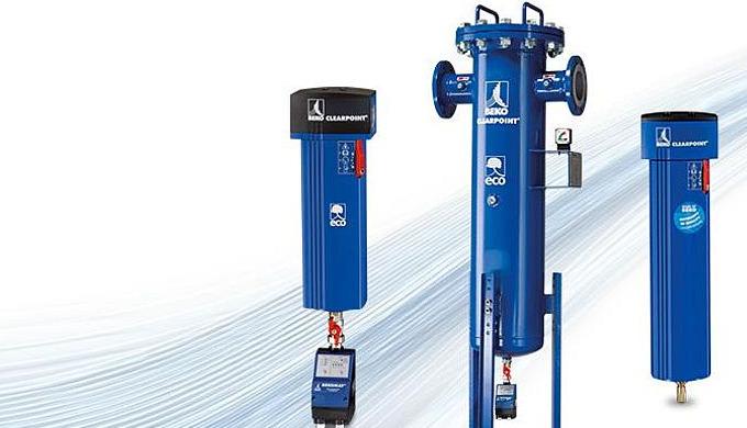 CLEARPOINT Druckluftfilter sorgen für die Reinheit Ihrer Druckluft – sicher und effizient. Die Energiekosten einer Druck