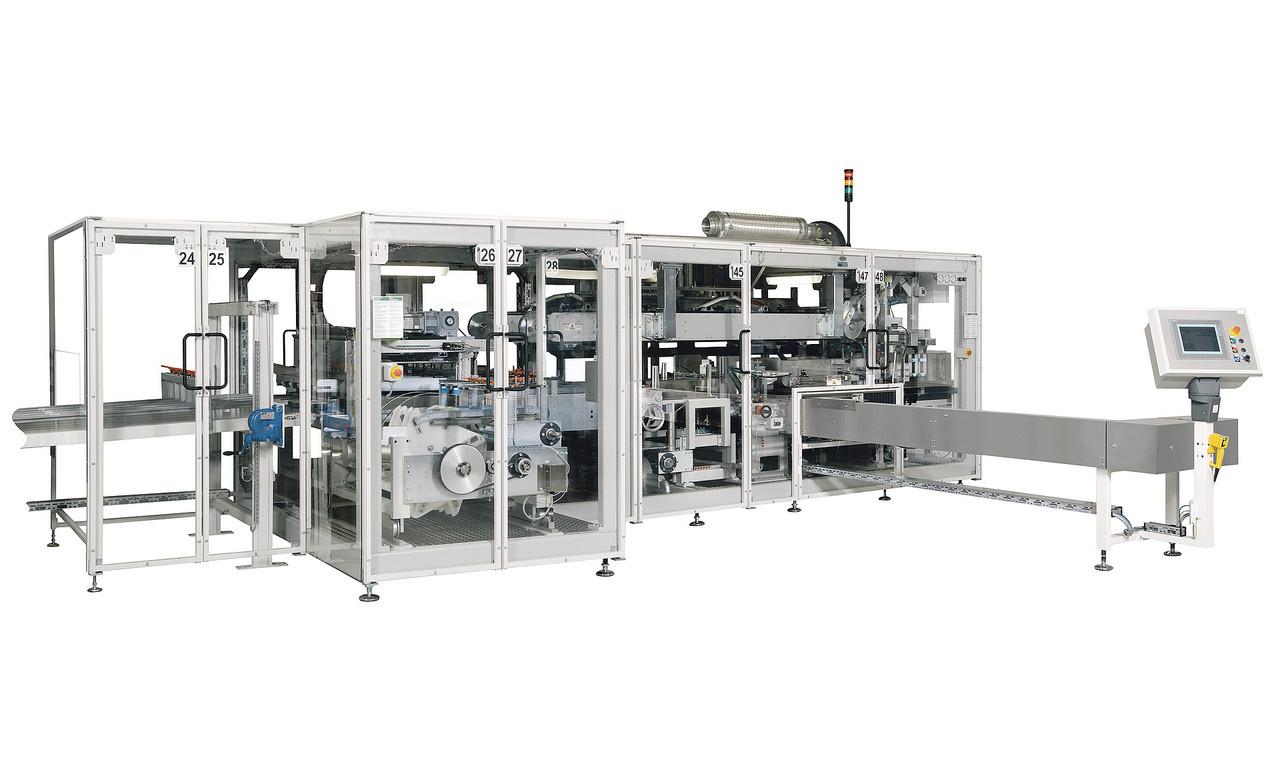 Die Beutel- und Verpackungsmaschine OPTIMA OSR kann Tissueprodukte aller Arten handhaben und unterstützt zugleich alle b