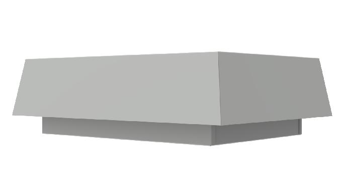 I torrini da estrazione sono progettati per il montaggio da tetto e sono la soluzione ideale quando è richiesto un notev