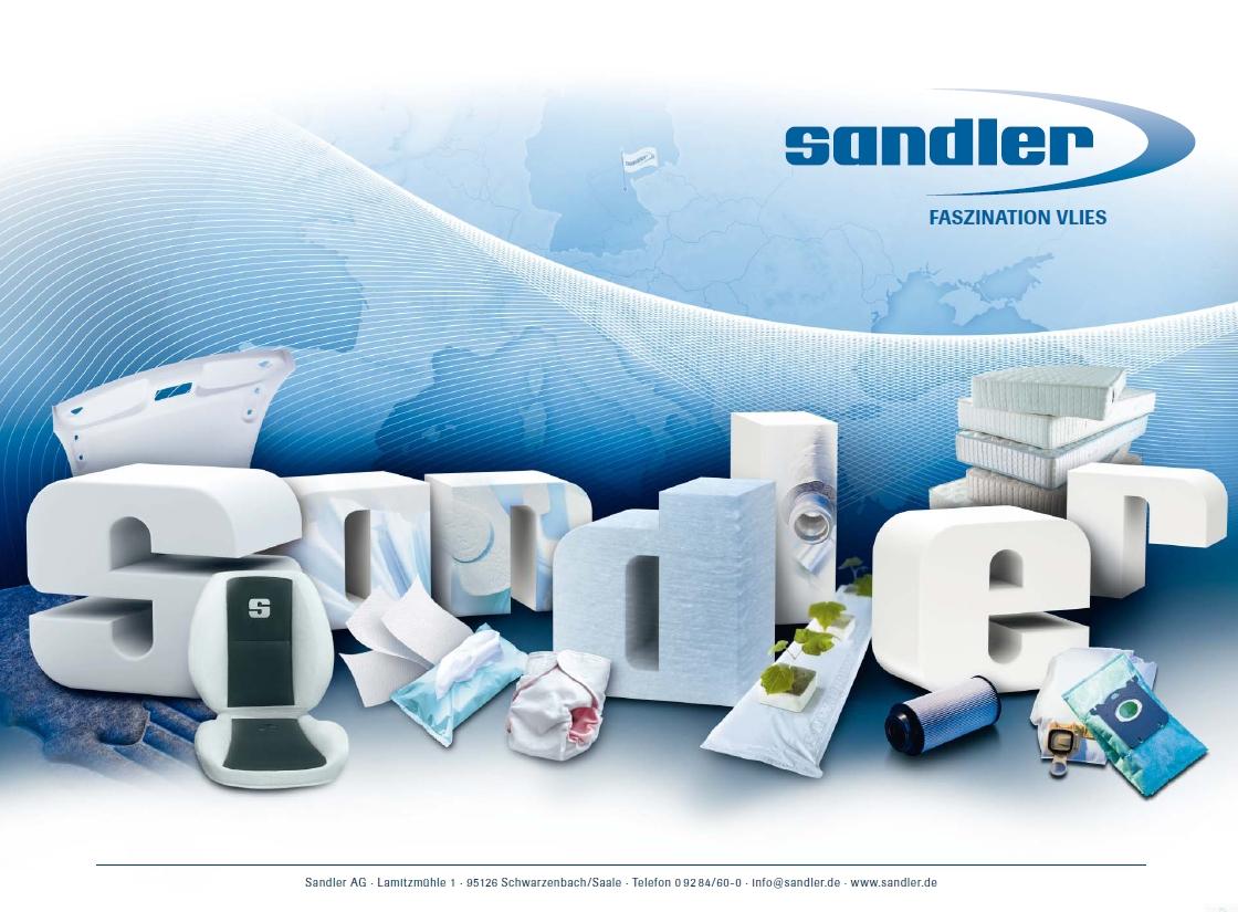 Sandler AG schließt Geschäftsjahr 2015 erfolgreich ab
