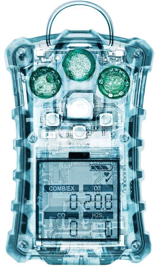 UN DÉTECTEUR CONÇU POUR DURER Le détecteur Multi-Gaz ALTAIR 4X pour gaz combustibles, CO, H2S et O2 est aussi robuste qu