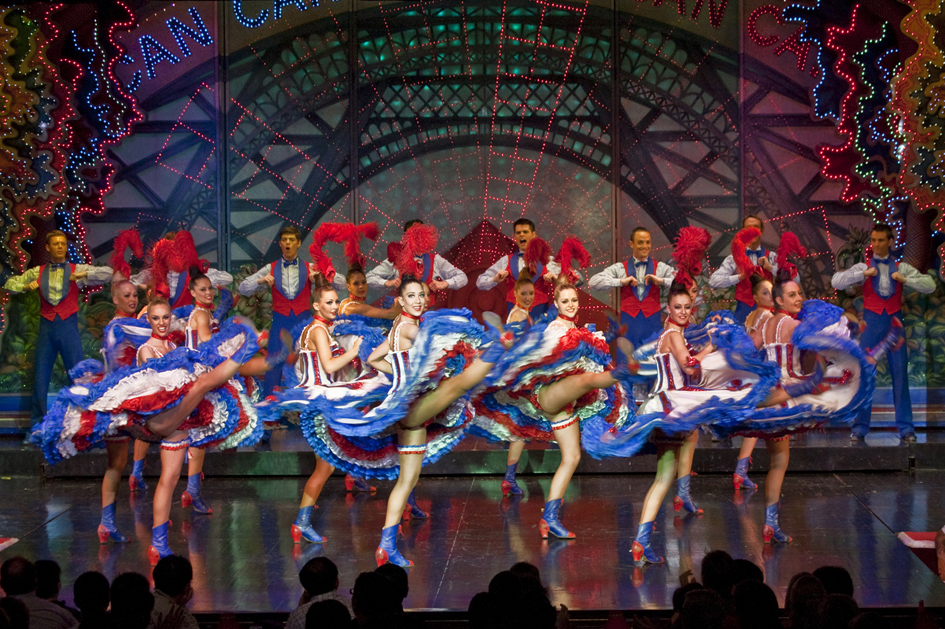 Le Célèbre French Cancan du Moulin Rouge