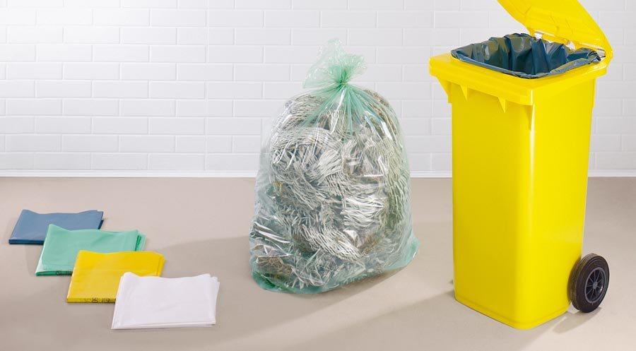 Abfallsäcke aus Polyethylen