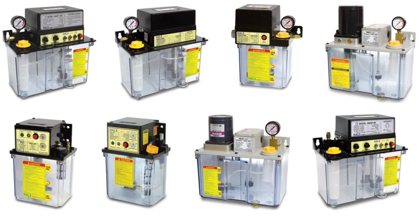 A representative lubricating system that is used not only for machine tool but also in industry machines in general. App