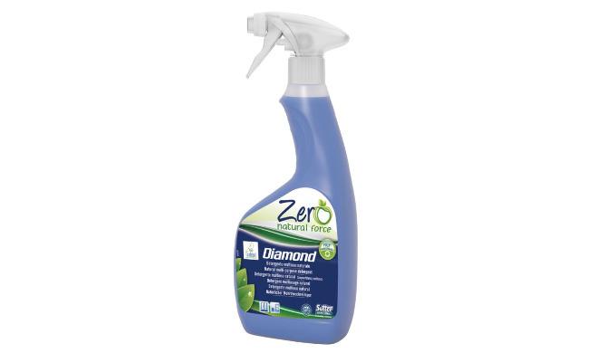 DIAMOND - 500 ml - Détergent vitres multisurfaces - naturel écologique - gamme ZERO