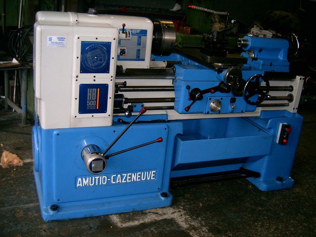 Torno AMUTIO CAZENEUVE HB500x750 reconstruido