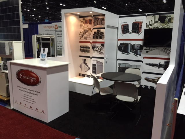 Electricfor Successfully Exposes its Heating Elements in the AHR EXPO in Orlando