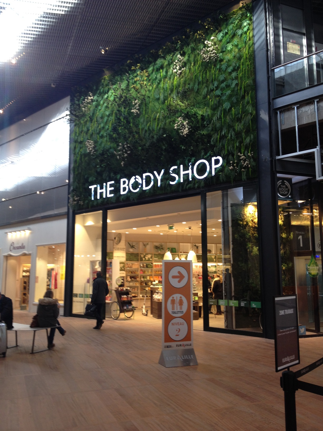 Actif Signal Partenaire de The Body Shop