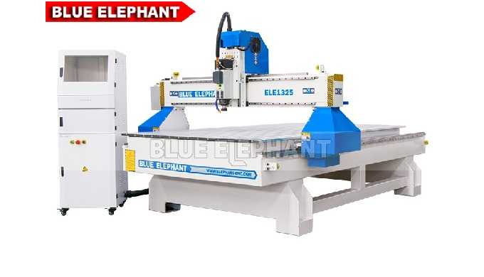 Features: 1. Equipped with original Italy HSD spindle, which is similar to 1325 CNC Router Machines for Wooden Furniture