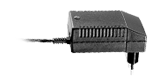 """The CH01 Battery Charger gives the possibility to interchange the plug type with a simple """"slide on"""" operation. This giv"""