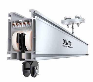 New Demag KBK Aluline Light Crane System