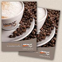 AROMAT ist Hersteller flüssiger Kaffeekonzentrate und tiefgefrorener flüssiger Kaffee-Extrakte für den Einsatz in profes