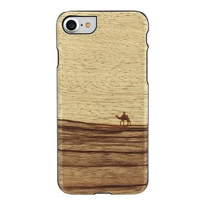 iphone-7 real de madera de la caja del teléfono (Terra / BL)