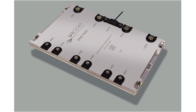 VICOR 10kW Power Tablet™ 3-phase, AC-DC converter