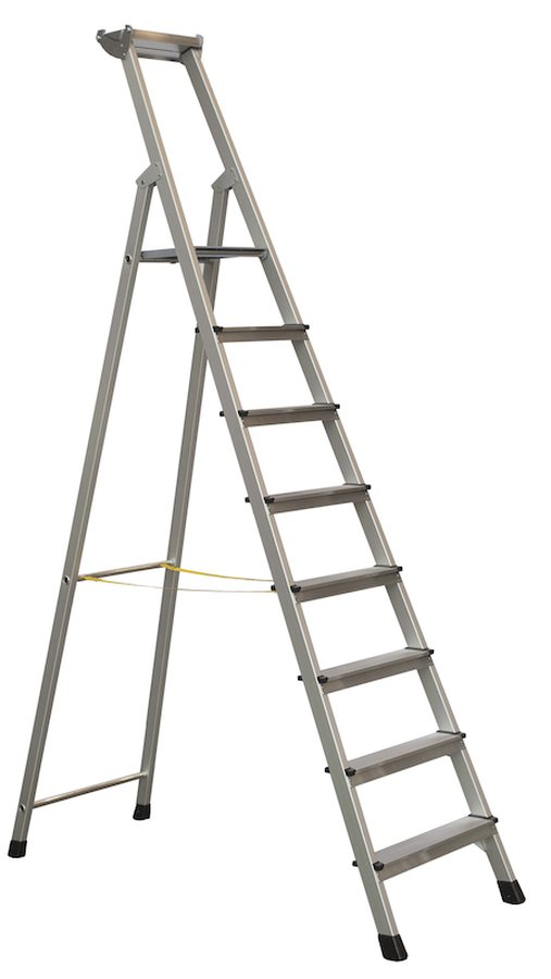 Profi-Stufenleiter, einseitig begehbar
